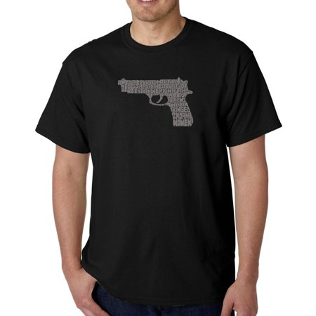 Los Angeles Pop Art Men's t-shirt - right to bear arms ()