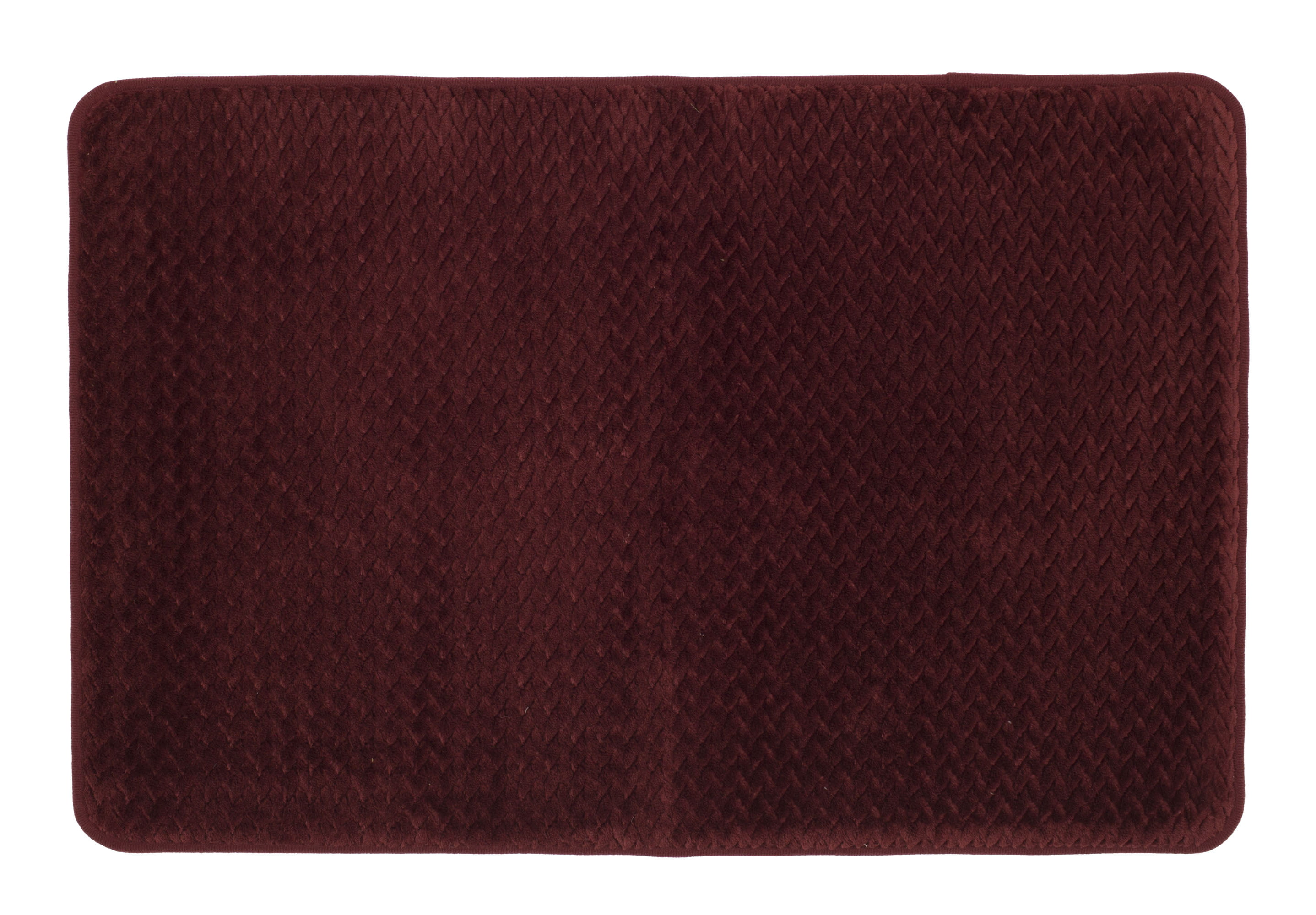 Mohawk Home 18 X 27 Red Memory Foam Bath Rug 1 Each