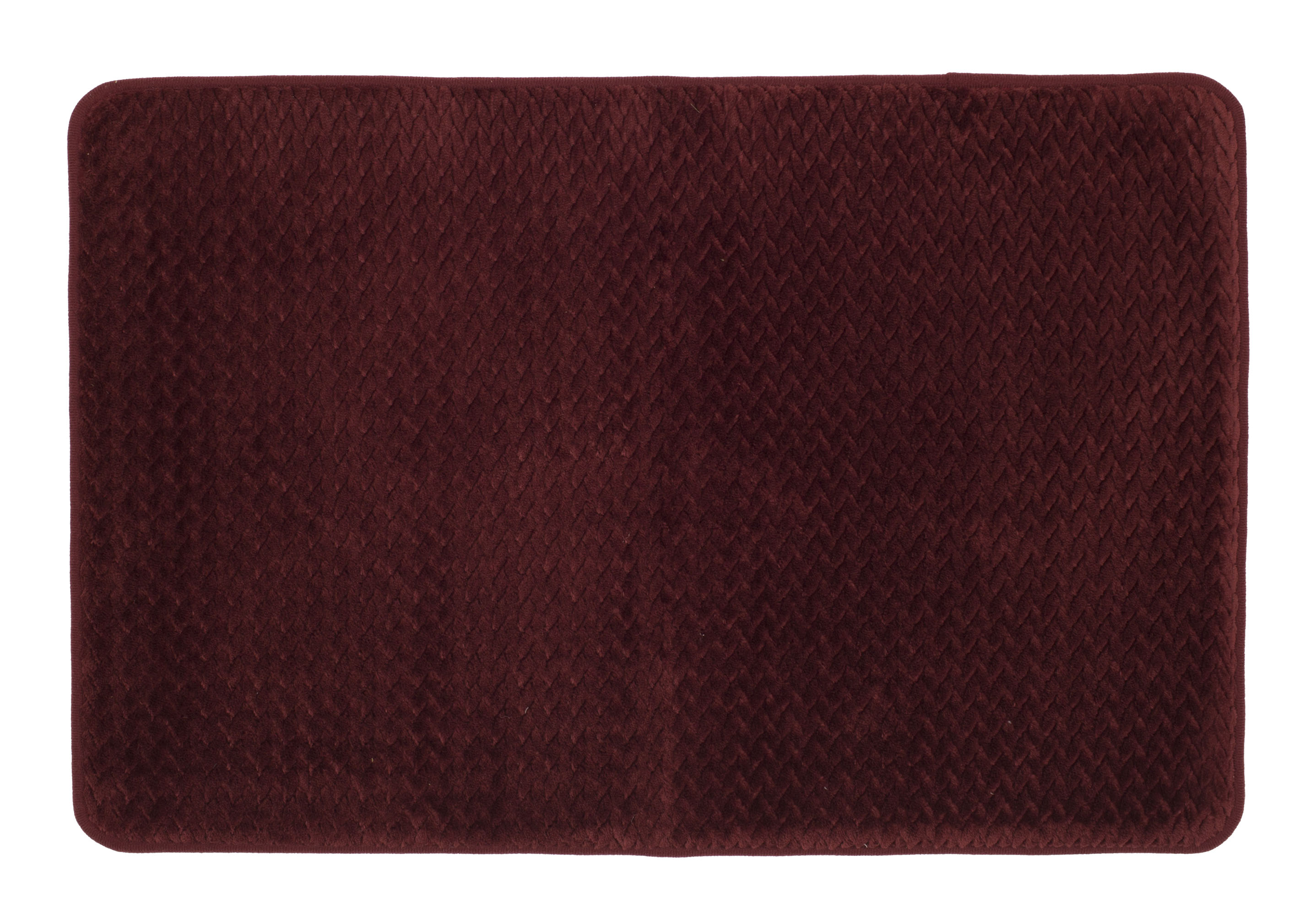 Mohawk Home 18 X 27 Red Memory Foam Bath Rug 1 Each Brickseek