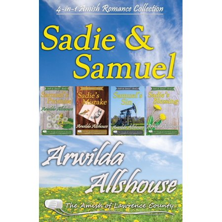 True Love Guest Book - Amish Romance : Sadie and Samuel Collection (4 in 1 Book Boxed Set): The Amish of Lawrence County, Pa