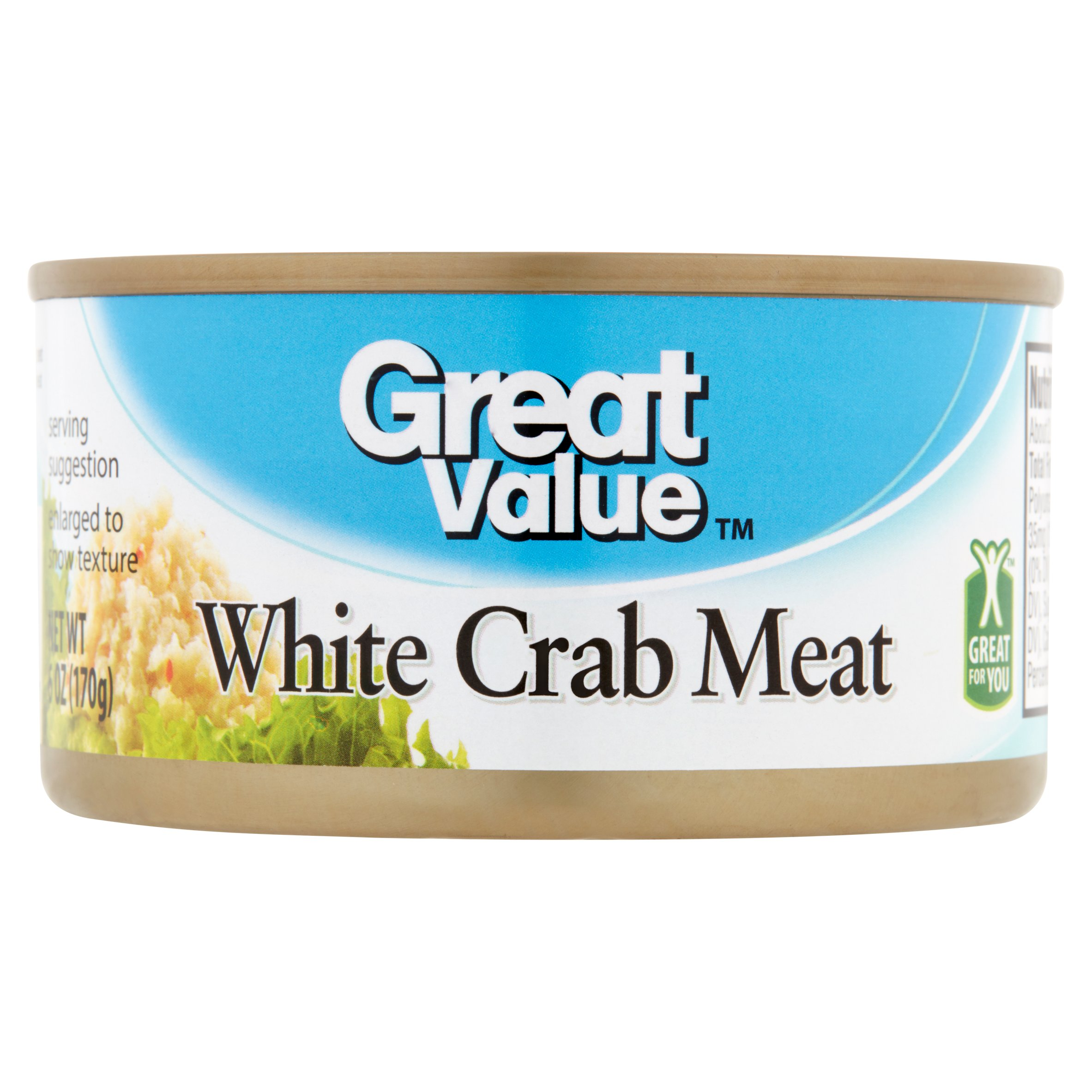 Great Value White Crab Meat 6 oz by Wal-Mart Stores, Inc.
