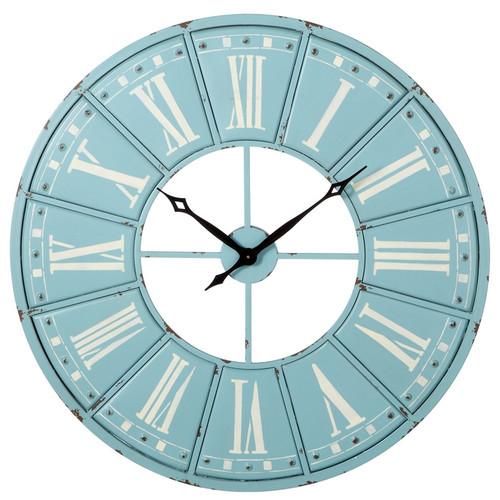 One Allium Way Round 40'' Roman Numeral Wall Clock