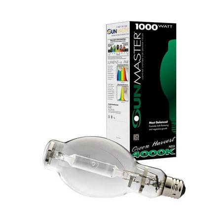 Metal Halide Digital Lamp - Sunmaster Green Harvest Pulse Start Metal Halide (MH) Lamp, 1000W