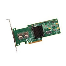 LSI Logic Controller Card L5-25083-05 MegaRAID SAS 9240-8i 8Port 256MB 6Gb/s Single Retail