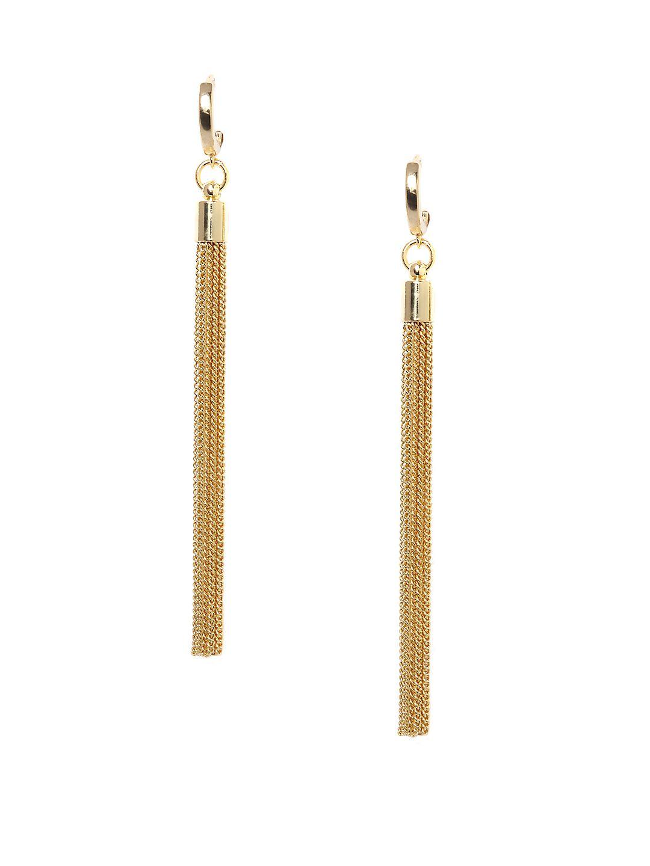 Tassel Fringe Linear Earrings