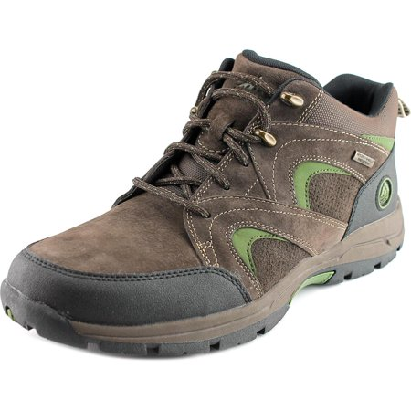 Rockport XCS Road & Trail WP MDGD Boot Men Round Toe Suede Brown Hiking Boot