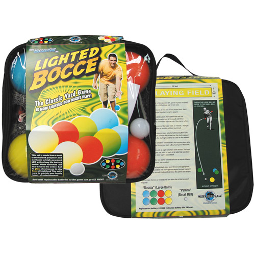 Steam Machine 80075-6 Lighted Bocce Ball Set  Water Sports Bocce Set 80075-6