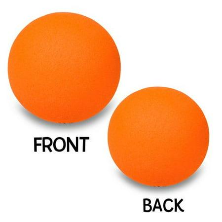 Happy Balls Plain Orange Ball Antenna - Happy Balls