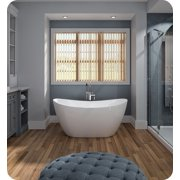 """Neptune Rouge 16.20412.0000.10 FLO3260F1 Florence F1 59 3/8"""" White Free Standing Oval Bathtub"""