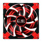 Aerocool DS120MMRED Dead Silence 120mm Red Case Fan