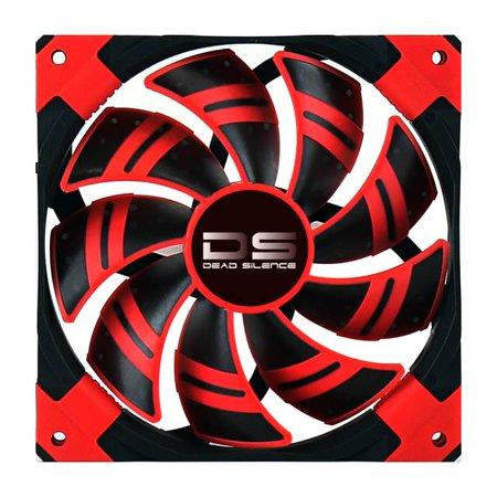 Image of Aerocool DS120MMRED Dead Silence 120mm Red Case Fan