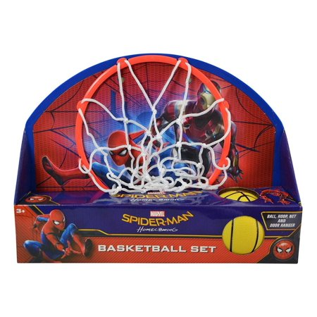 Marvel Marvel Comics Spider-Man Homecoming Basketball Set (4pc Set) Sports Accessories for $<!---->