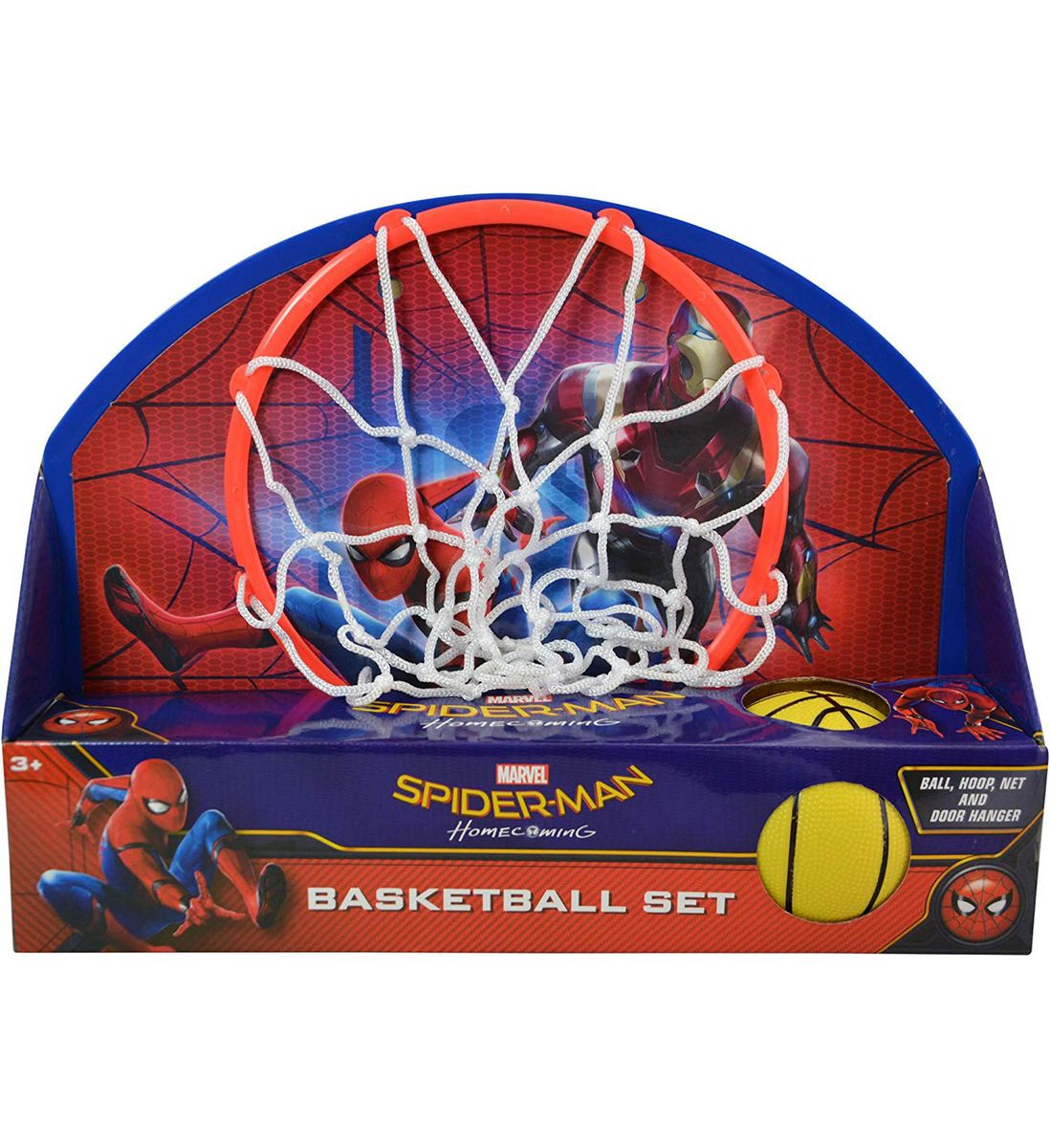 Marvel Marvel Comics Spider-Man Homecoming Basketball Set (4pc Set) Sports Accessories