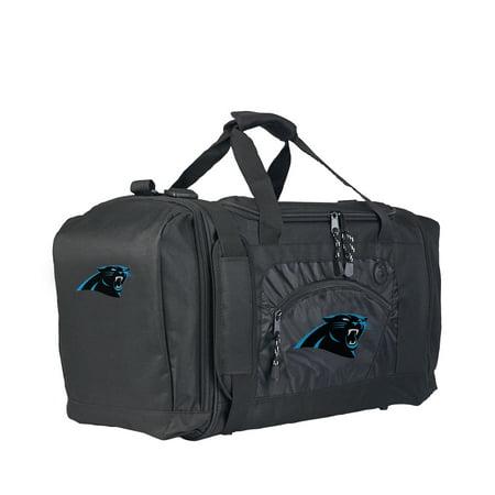 """Rtl Bag - NFL Carolina Panthers """"Roadblock"""" 20""""L x 11.5""""W x 13""""H Duffel Bag"""