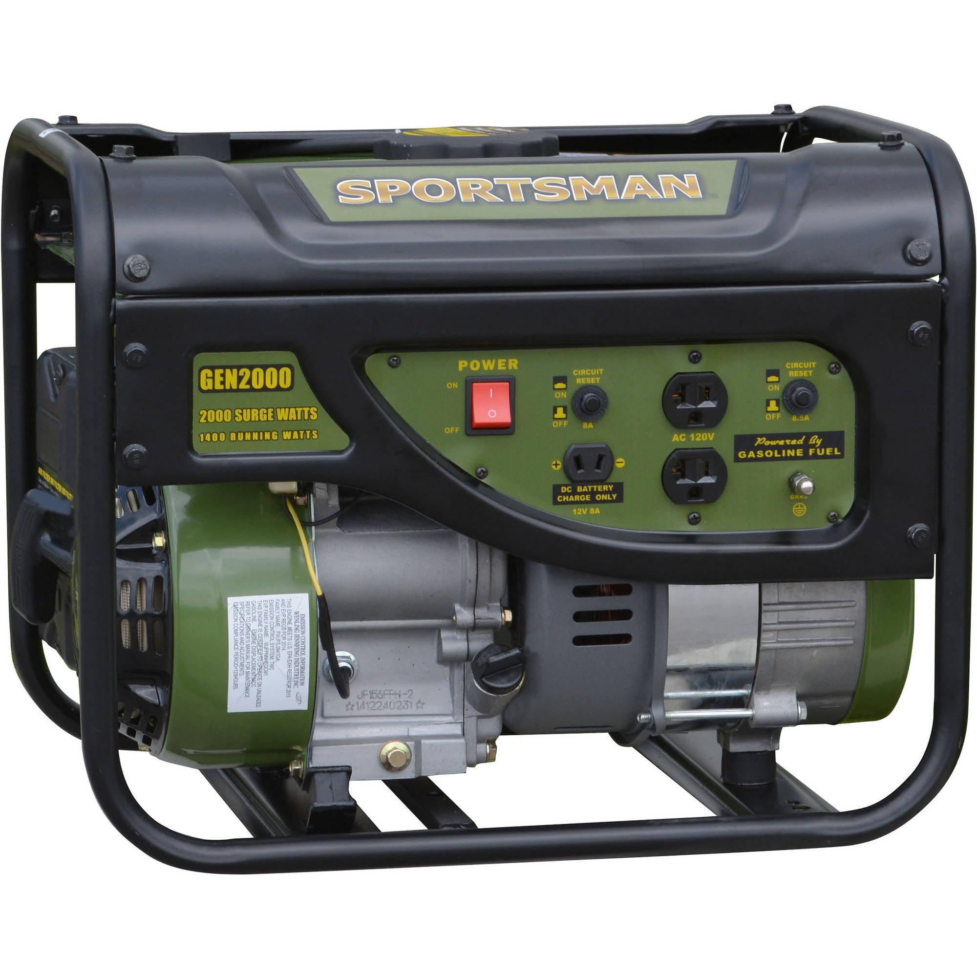 Sportsman Gasoline 4000W Portable Generator Walmartcom
