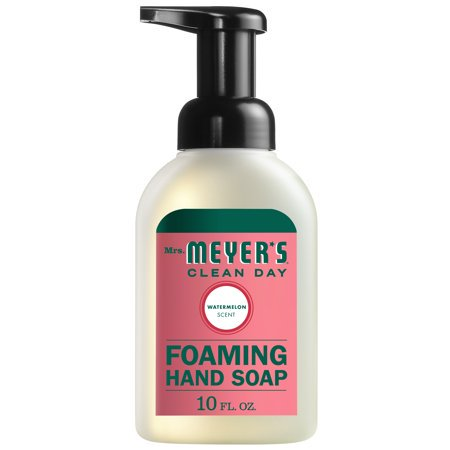 (3 Pack) Mrs. Meyer's Clean Day Foaming Hand Soap, Watermelon, 10 Oz 10 Oz Moisturizing Hand Wash