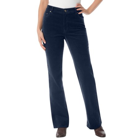 Woman Within Women's Plus Size Tall Stretch Corduroy Bootcut Jean