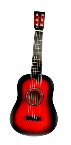 V. Toys Classic Acoustic Beginners Childrens Kids 6 Stringed Toy Guitar Musical Instrument... by Velocity Toys