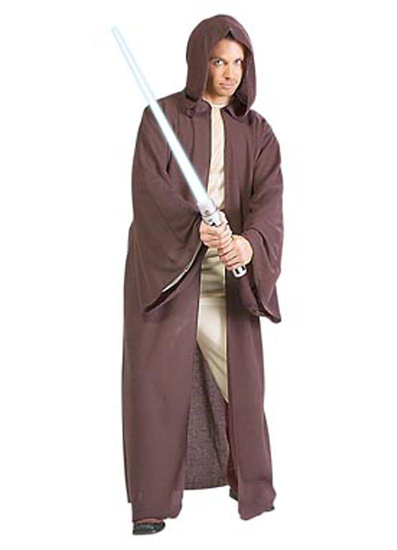 Star Wars Men Women Jedi Warrior Hooded Cloak Robe  Halloween Cosplay Costume