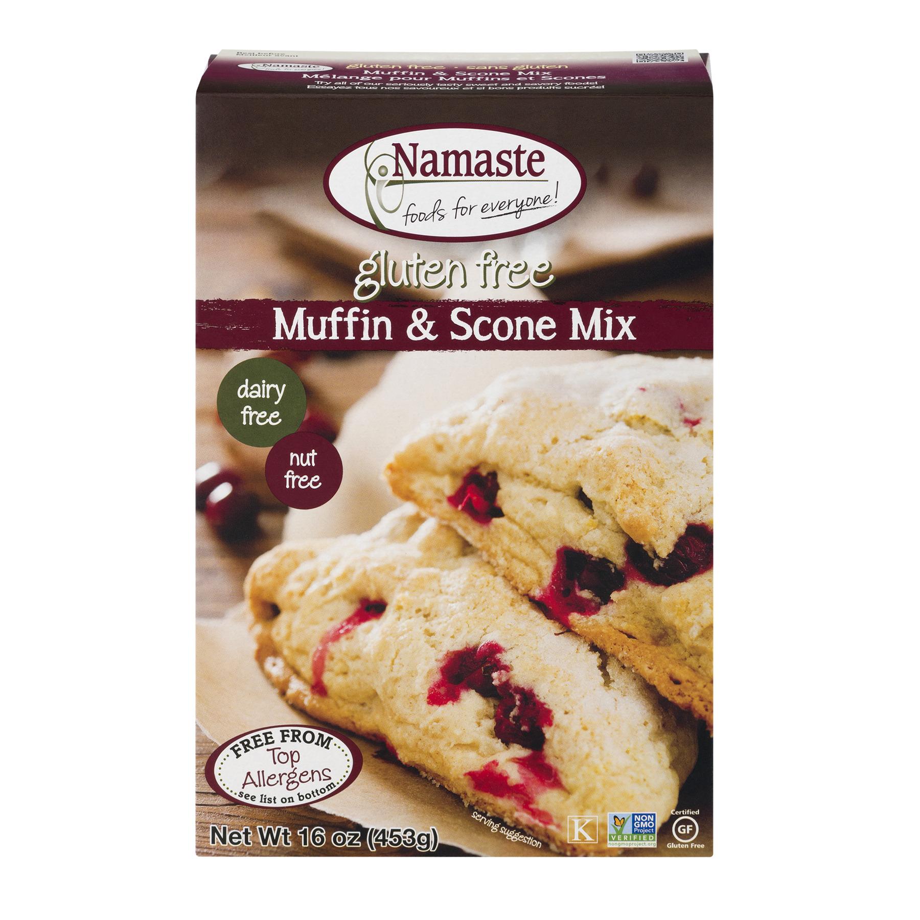 Namaste Foods Muffin & Scone Mix, 16 oz