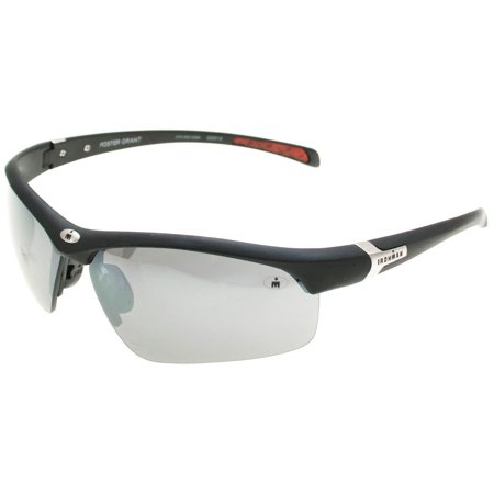 IronMan Mens Principle Wrap Sunglasses One Size White/orange