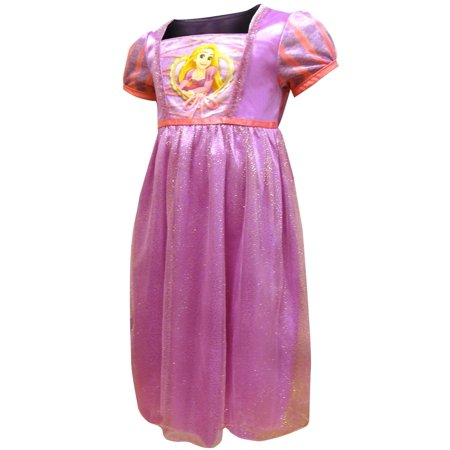 Disney Rapunzel Dress Like A Princess Nightgown