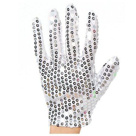 Blinkee UKSMJRHSG Child Size Unlit Michael Jackson Left Hand Sequin Glove](Michael Jacksons Glove)
