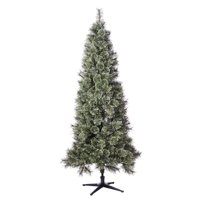 Holiday Time Unlit Spruce Christmas Tree 7 ft, Green