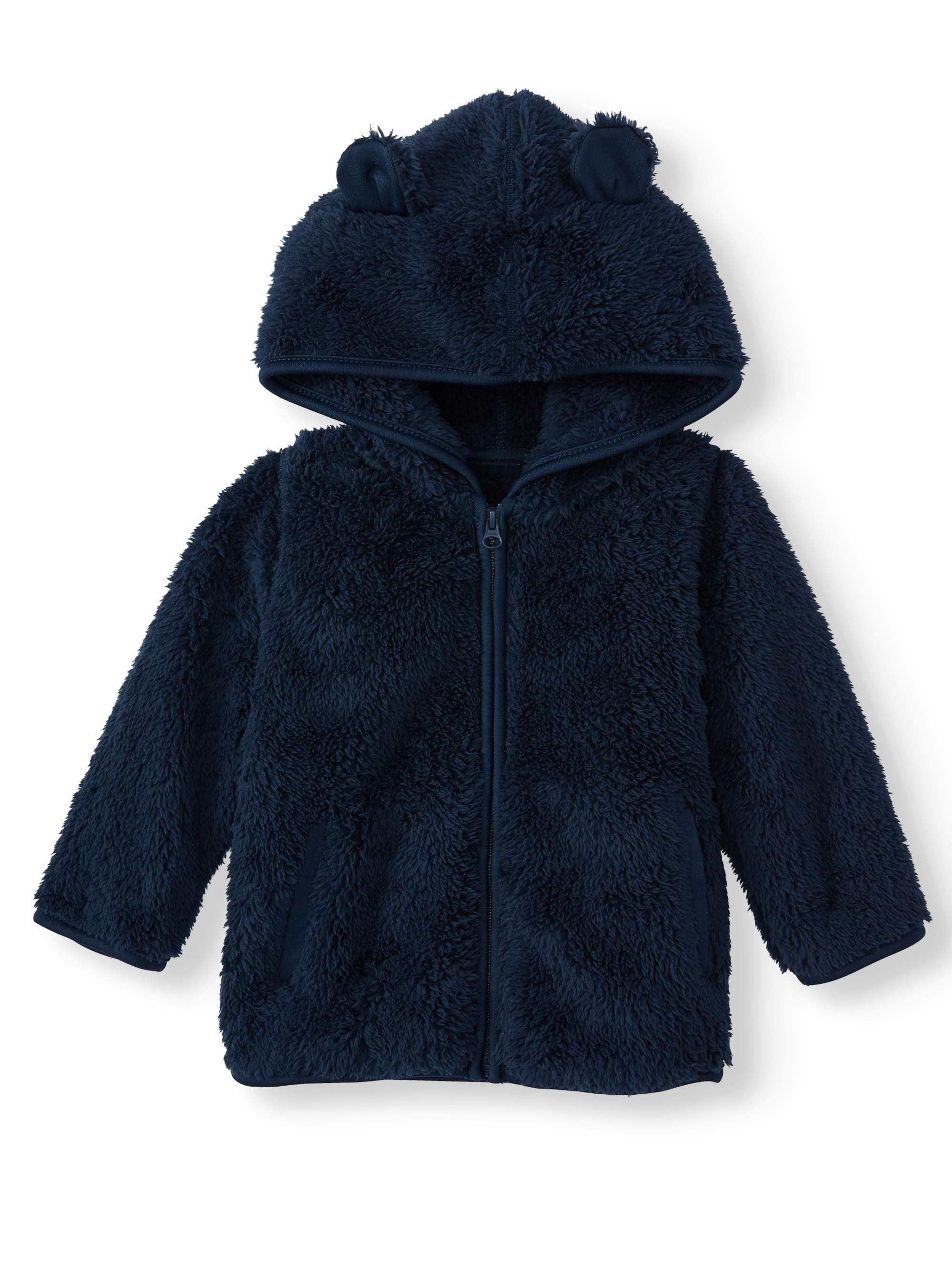Garanimals Baby Toddler Girl Fleece Top Sweatshirt Graphic Tee Glitter Mommy