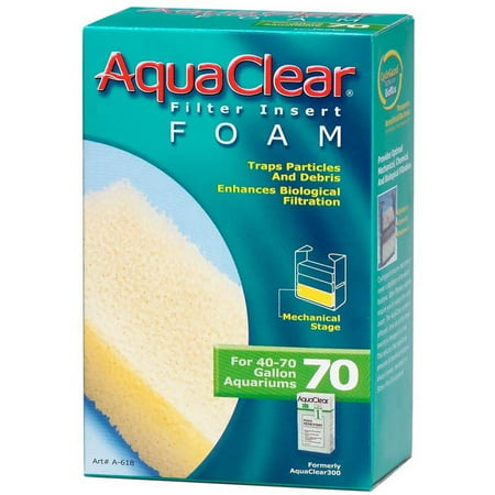 Aquaclear Powerheads (AquaClear 70 Filter Insert Foam )