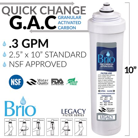 Magic Mountain Water Products Presents the Brio Quick Change / Easy Change Replacement Filter Cartridges