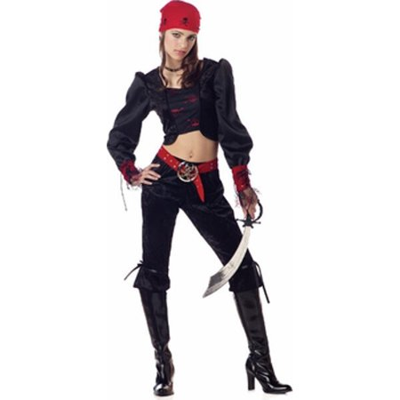 Teen Gothic Pirate Costume - Teens Cosplay