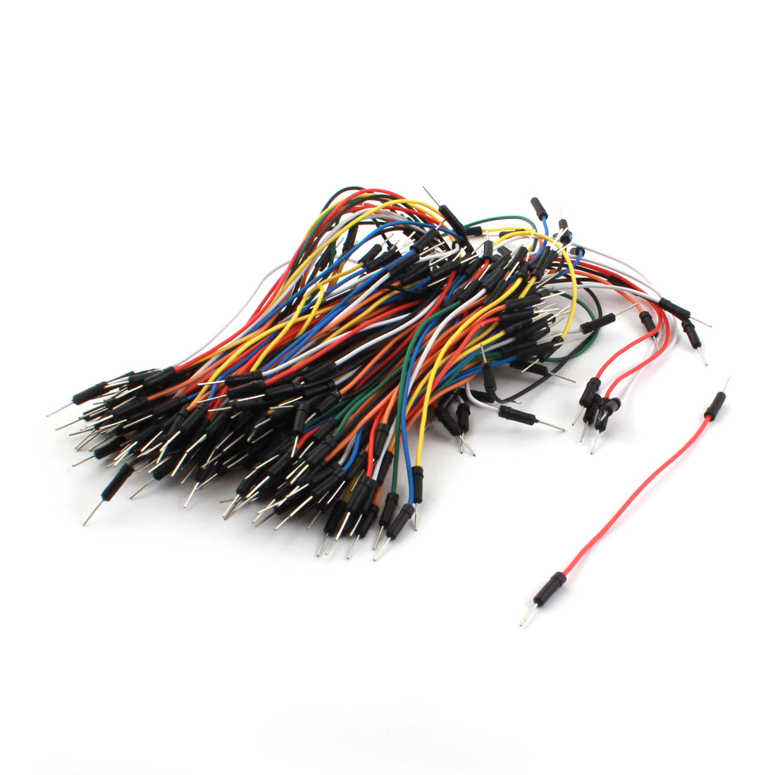 150Pcs 1P-1P M/M Breadboard Testing Jumper Wire Cable 2.54mm 10cm 25cm