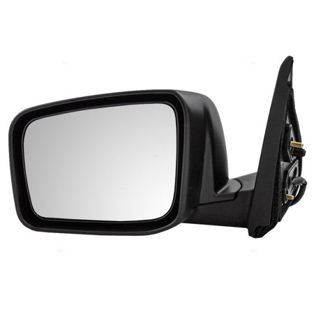 Drivers Power Side View Mirror Heated Replacement for Nissan Rogue & Rogue Select 96302-JM200, Brand new aftermarket replacement By AUTOANDART Aftermarket Side View Mirrors