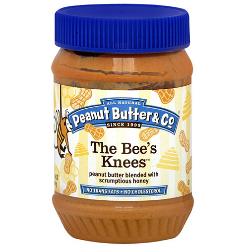 Peanut Butter & Co. The Bee's Knees Peanut Butter, 16 oz (Pack of 6)