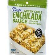 Frontera Green Chile Enchilada Sauce with Roasted Tomatillo + Garlic, 8 oz, (Pack of 6)