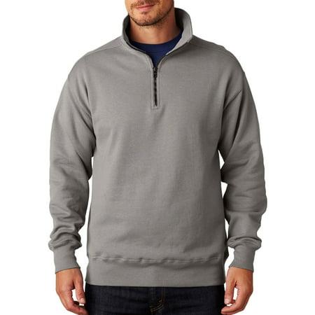 Hanes Men's Premium Quarter-Zip Fleece Jacket