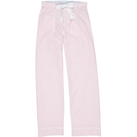 - Size Large Womens Cotton Seersucker Pajama Pants, Cotton Candy Pink