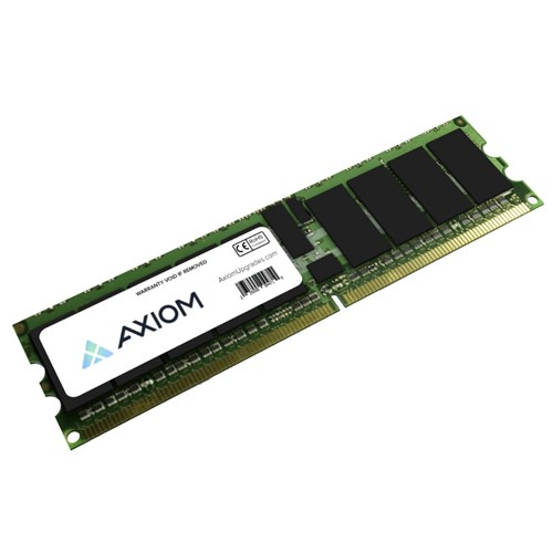 Axion AD345A-AX Axiom AD345A-AX 8GB DDR2 SDRAM Memory Module - 8 GB (2 x 4 GB) - DDR2 SDRAM - 533 MHz DDR2-533/PC2-4200 - ECC - Registered - 240-pin - DIMM