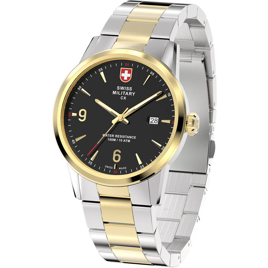 Ewatch Factory Swiss Military By Charmex Men's Officer 2 ...