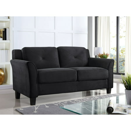 Lifestyle Solutions Harvard Loveseat with Curved Arm ()