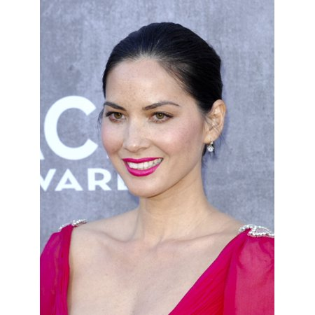 Olivia Munn At Arrivals For 49Th Annual Academy Of Country Music Awards 2014 - Arrivals 1 Mgm Grand Garden Arena Las Vegas Nv April 6 2014 Photo By Elizabeth GoodenoughEverett Collection Photo Print (Olivia Munn Halloween)