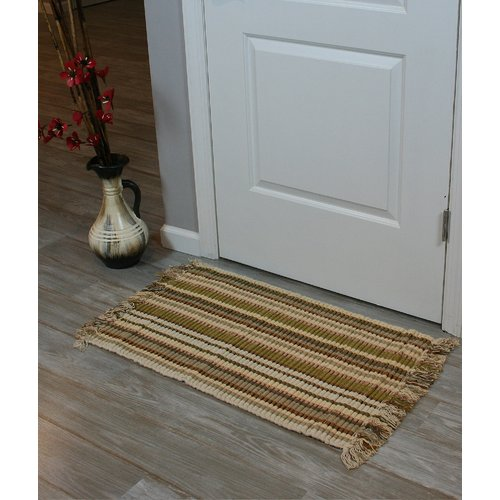 Ess Ess Exports Silk Ribbed Hand-Woven Caramel Area Rugs (Set of 2)