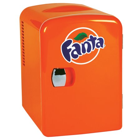 Fanta 6 Can Personal Mini Cooler and Fridge