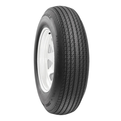 Carlisle Sure Trail Trailer Tire and Wheel Assembly, 4.80-12 12X4.005/4.58 SW
