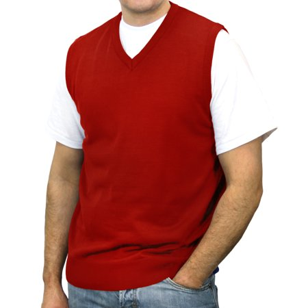 Big Tall Sweater Vests - Big and Tall Men's Solid Sweater Vest