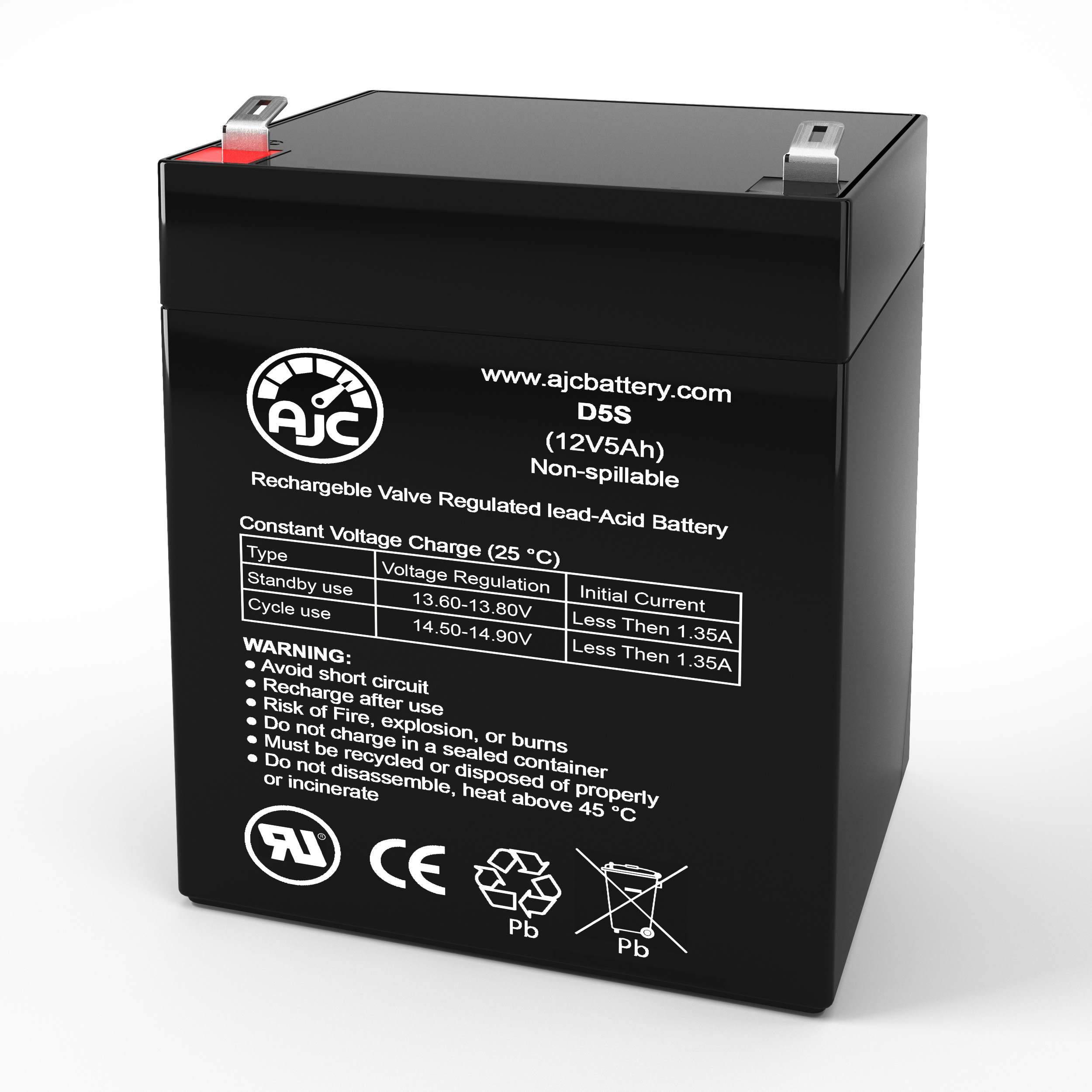 This is an AJC Brand Replacement Hewlett Packard R3000XR 12V 5Ah UPS Battery