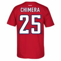 Jason Chimera Washington Capitals NHL Red Name   Number T-Shirt For Men 6c9386f7f