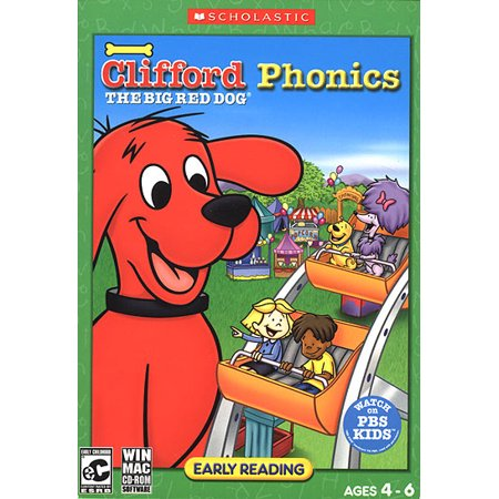 Tremendous Clifford The Big Red Dog Phonics Xsdp 81658 Now Your Child Can Have Even More Fun With Clifford And Friends As They Build Their Reading Skills Machost Co Dining Chair Design Ideas Machostcouk
