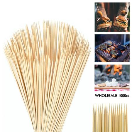 Party Skewers (1000 Bamboo Skewers 12